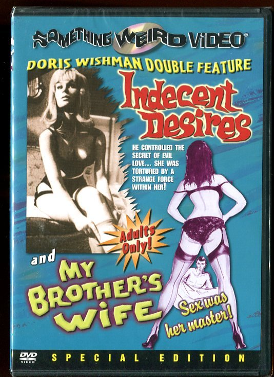 Indecent Desires/My Brother's Wife (DVD 2004)
