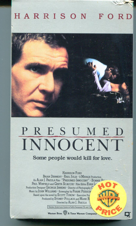 PRESUMED INNOCENT  (VHS, 1991)