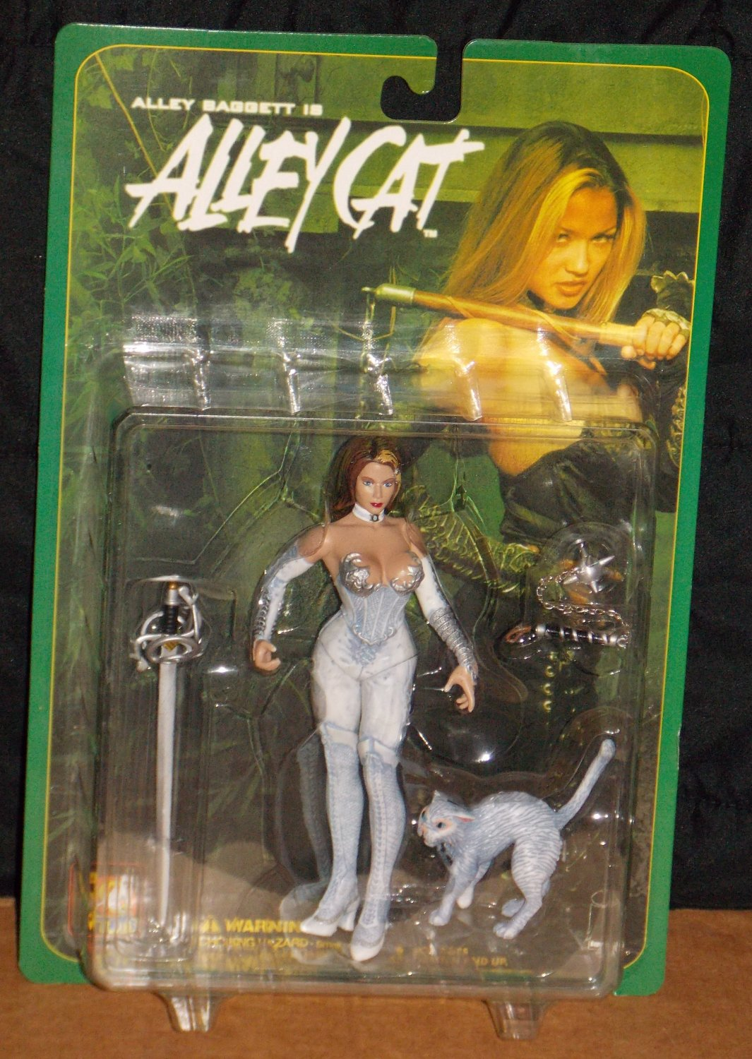 sc 1 st  krjgifts - eCRATER & Alley Baggett Is Alley Cat White Costume (1999) Sealed