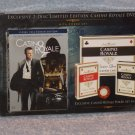 James Bond Casino Royale 2 Disc Limited Edition With Poker Set