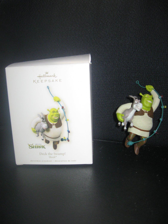 Hallmark Keepsake 2007 Dreamworks Shrek Deck the Swamp Christmas Ornament