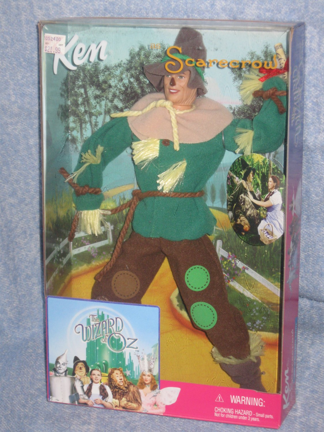 Ken Wizard of Oz - Ken as the Scarecrow 1999 Added Shipping Cost Outside USA