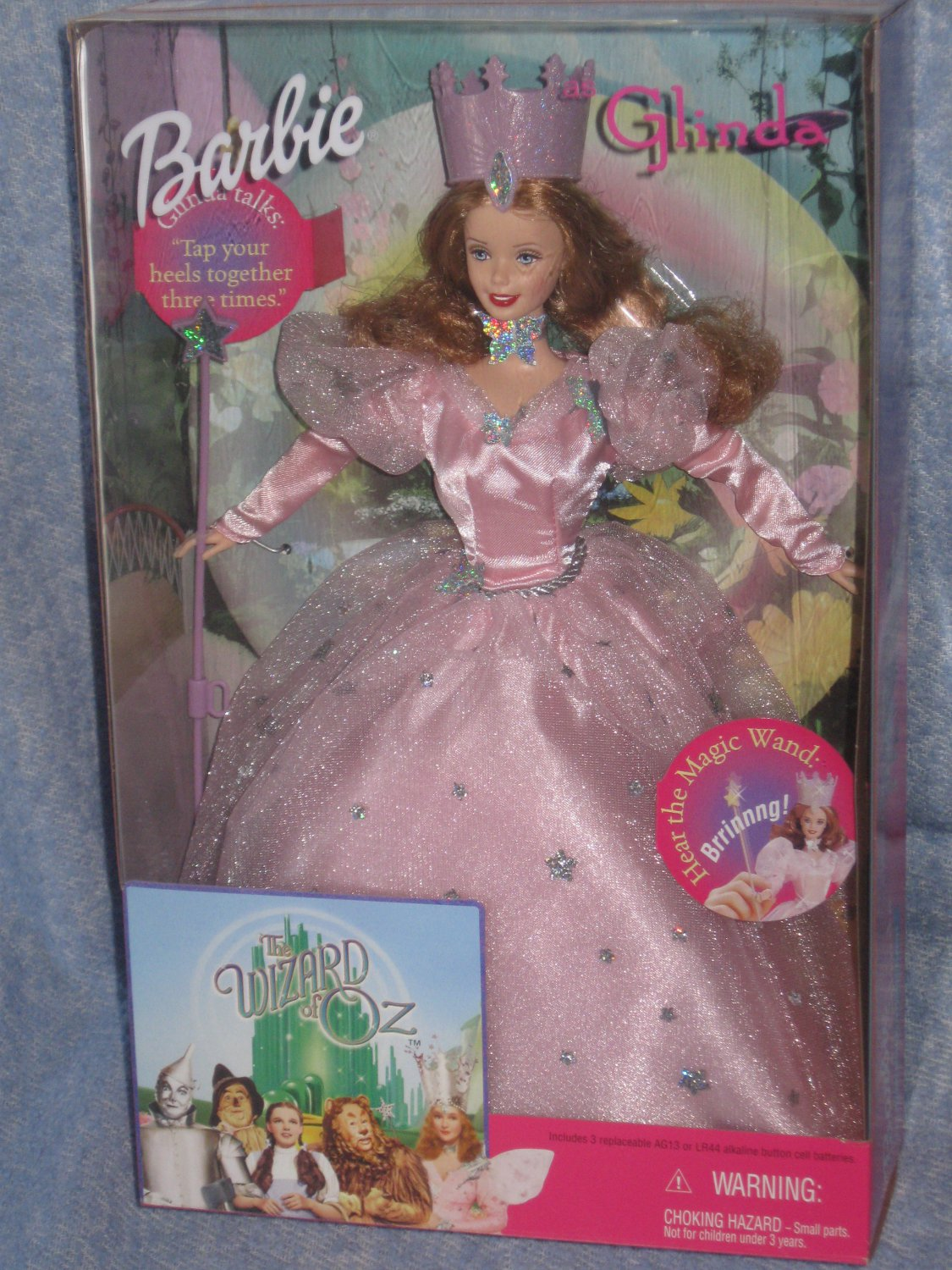 Barbie Wizard of Oz - Barbie as talking Glinda 1999