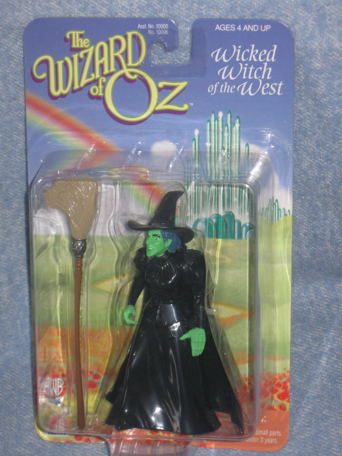 The Wizard Of Oz Wicked Witch of the West Action Figure 1998
