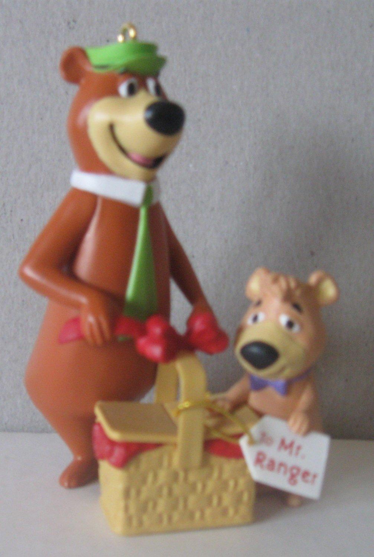 Yogi Bear and Boo Boo - 1996 Hallmark Ornament - Hanna-Barbera - Jellystone