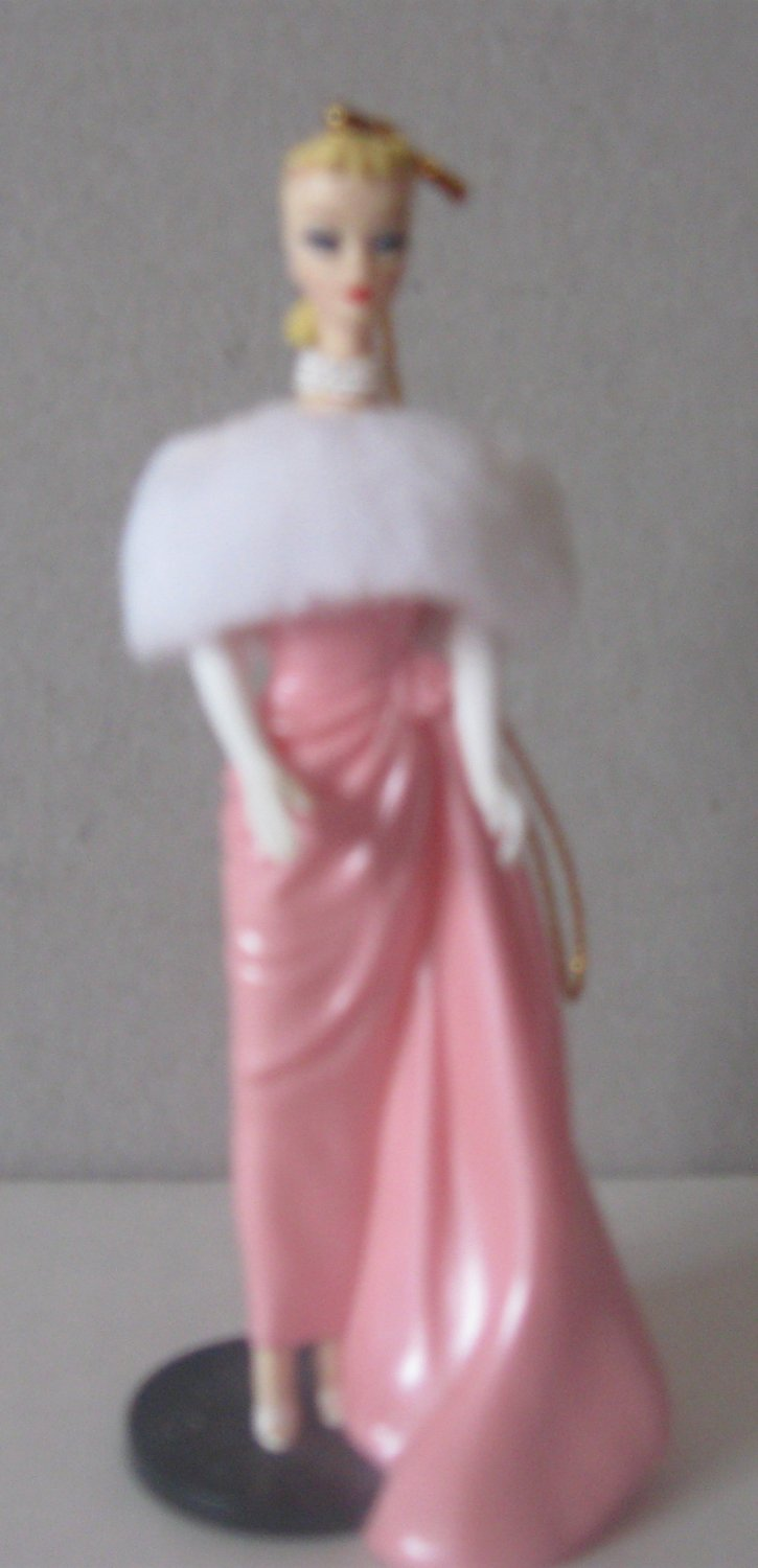 1996 Hallmark Barbie Doll Ornament �Featuring Enchanted Evening�  #3 of Series