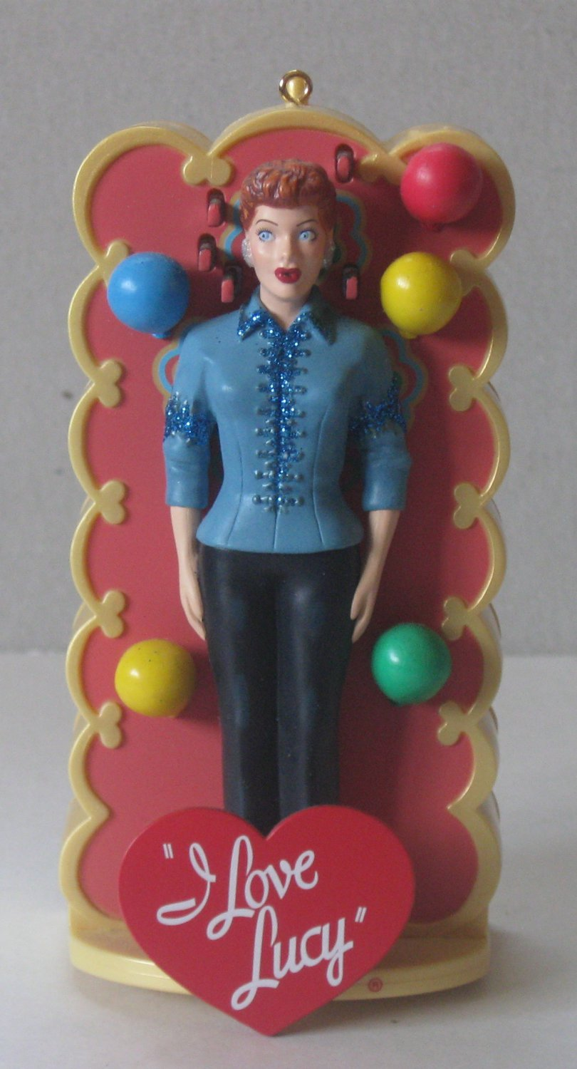 2009 Details about  I Love Lucy - Lucy Tells the Truth - Carlton Cards Christmas Ornament