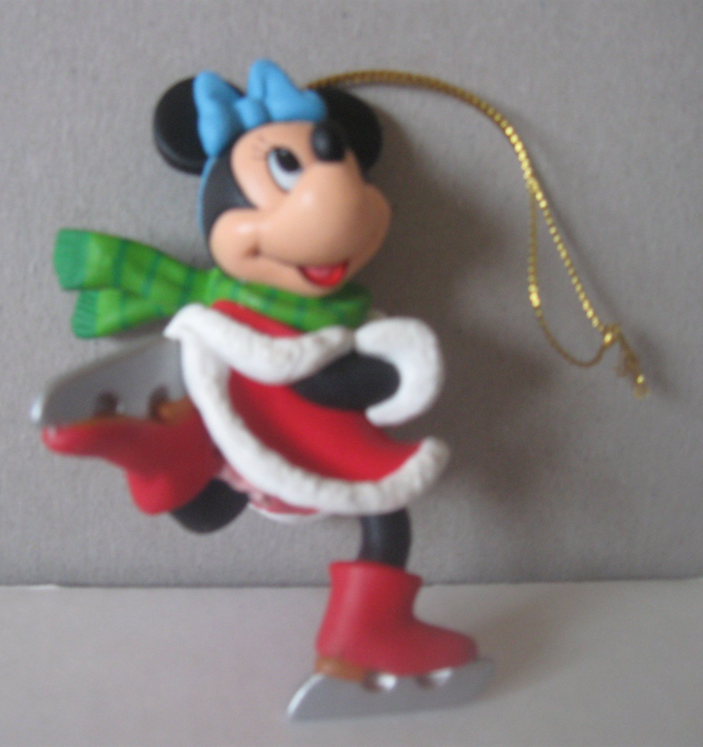 Disney Grolier Minnie Mouse Collectible Christmas Ornament