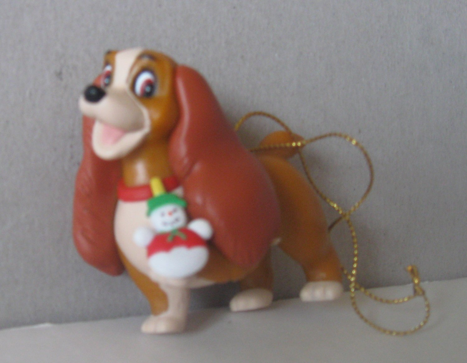 Disney Grolier Lady (Lady & the tramp) Collectible Christmas Ornament
