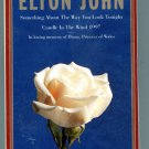 Elton John Candle in the Wind 1997 Cassette Tape Tribute to Princess Diana