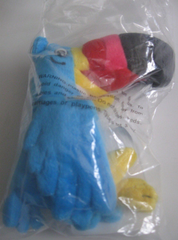 Kellogg's Toucan Sam Stuffed Plush Doll With Original Tag 1999