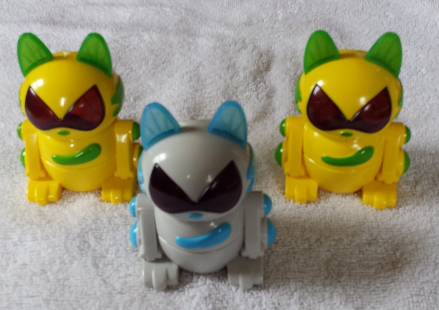 McDonald's Happy Meal Toy Robo Tiger Electronics 2000 Sega Toys (3)