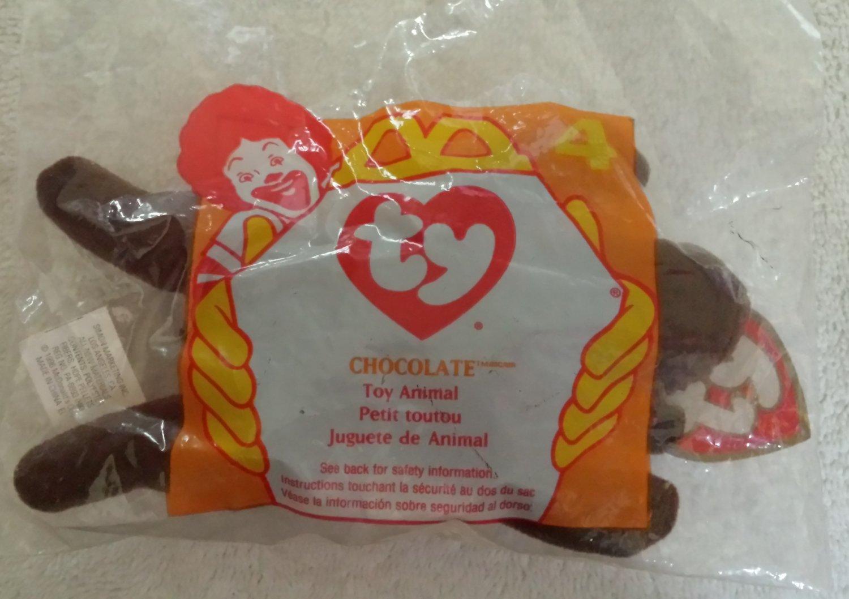 McDonald's Happy Meal Toy Ty Teenie Beanie Baby Chocolate the Moose #4