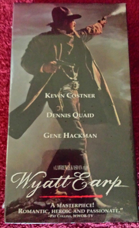 Wyatt Earp (VHS, 1994, 2-Tape Set)