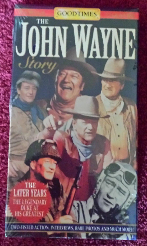 The John Wayne Story The Later Years (VHS Documentary 1994)