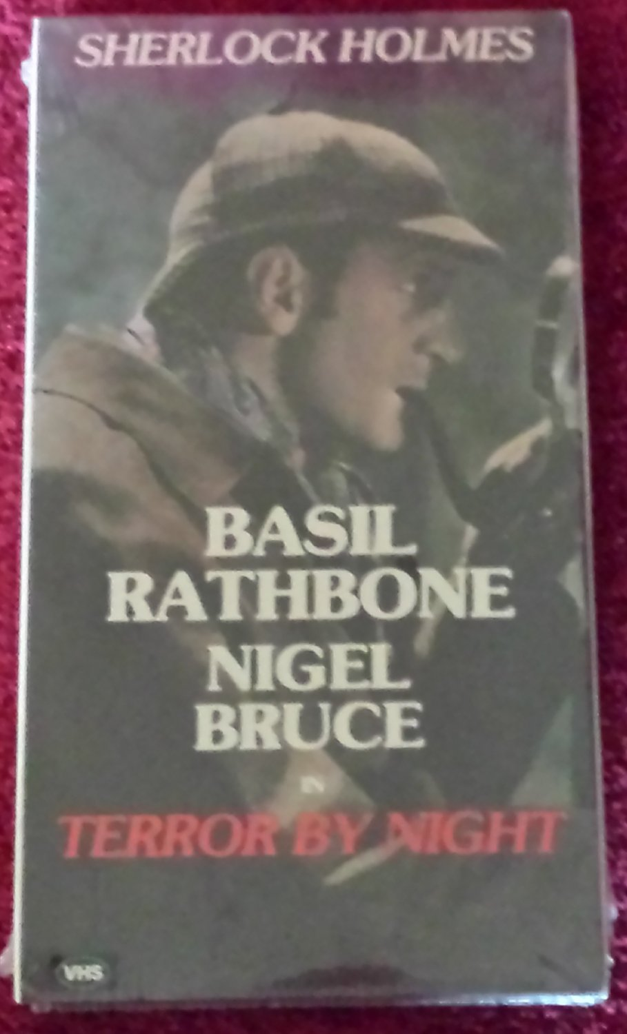 Sherlock Holmes in Terror by Night (VHS Black & White 1946)