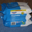 (3 packs) Equate Flushable Wipes 48 Wipes Per Pack 144 Wipes Total