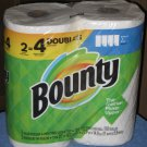 (1 pack of 2 double rolls) Bounty Paper Towels 2-Ply