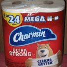 (1) Package Of (6) Mega Rolls Charmin Toilet Paper 6=24