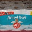 (1) Package Of (12) Jumbo Rolls Angel Soft Toilet Paper 12 jumbo = 26 regular rolls.