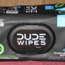 (2 packs of 48) Dude Wipes Flushable Extra Large 48 Wipes Per Pack 96 Wipes Total