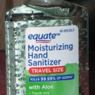 3oz Bottle Equate Hand Sanitizer Travel Size With Aloe & Vitamin E Kills 99.99% Of Germs
