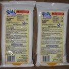 2 Packs Of 36 Good & Clean Disinfectant Wipes Kills 99.9% Of Bacteria Lemon Scent.