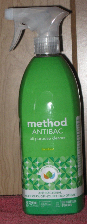 28 FL. OZ  Spray Bottle Method Antibac All Purpose Antibacterial Cleaner