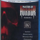 Masters of Horror Blu-ray - Season 1 Volume 4 (Blu-ray Disc, 2007)