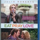 Eat Pray Love (Blu ray Disc, 2010, Director's Cut & Original Theatrical Version)