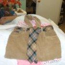Homemade Corduroy Pocketbook w/tie