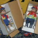 Jeff Gordon's  Chris and Katie Collector Dolls