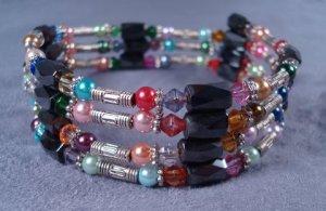 Magnetic wrap bracelet or necklace