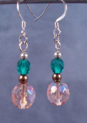 Spring colour earrings