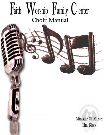 Microphone with Music Manual Cover
