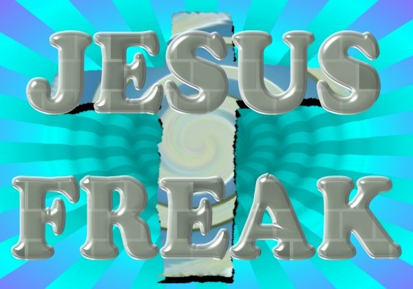 Jesus Freak Sycadelic T-Shirt