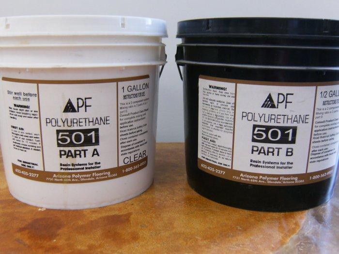 Poly 501 1.5 gal kit