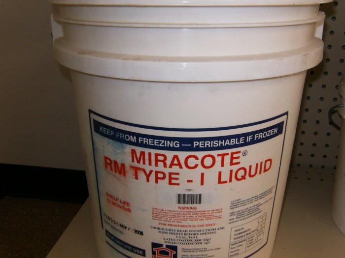 Repair Mortar I Liquid - 5 gal pail