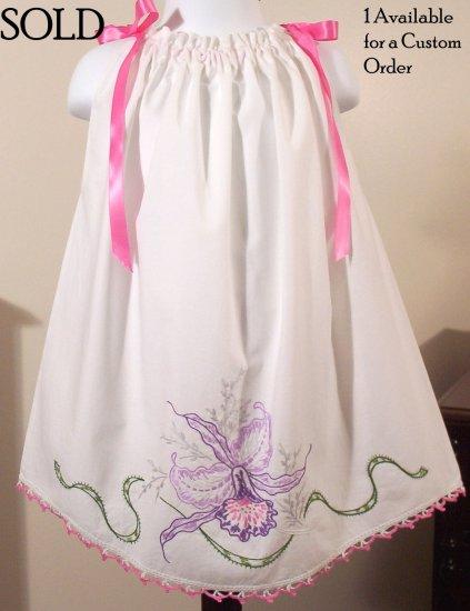 Vintage Pillowcase Dress - Teresa - Infant - Toddler - Little Girl Dress - 2T - 4T