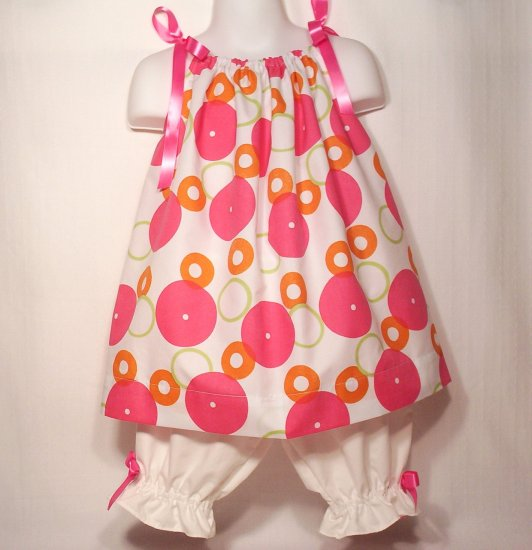 Sassy - Pillowcase Dress and Pantaloons - Infant - Toddler - Little Girl - Summer Dress