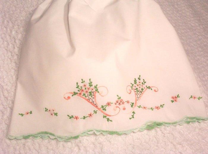 Yasmin - Pillowcase Dress - Little Girl Dress - Vintage Heirloom Dress