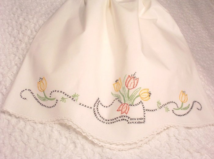 Holly - Pillowcase Dress - Toddler Dress - Little Girl Dress - Vintage Heirloom Dress