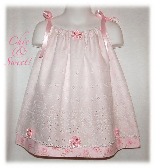 Tabby - Pillowcase Dress - Toddler Dress - Special Occasions Dress