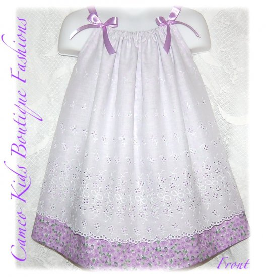 Violet - Pillowcase Dress - Toddler Dress - Spring and Summer Dresses