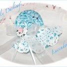 Lavender Sachet - Vintage Style Bonnet - Lavender Sachets - Unique Gift Idea - Vintage Feedsacks