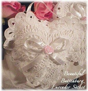 Cottage Beauty - Battenburg Lavender Sachet - Lavender Sachets - Gift Idea
