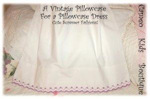 Sherry - Pillowcase Dress - Summer Frocks for Little Girls