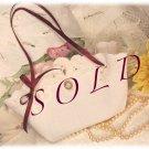 Victorian Vintage Lace Purse - Little Girl - Toddler - Unique Gift Idea