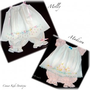 Special Request for Mary Drummond - Vintage Pillowcase Dress - Pantaloons - Peasant Style Dress