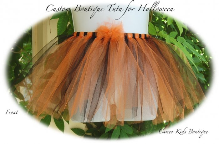 Boutique - Halloween Tutu - Girls - Girls Couture - Costume - Skirt
